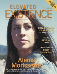 Alanis Morissette in Elevated Existence Magazine