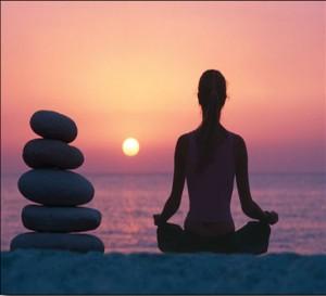meditation-sunset