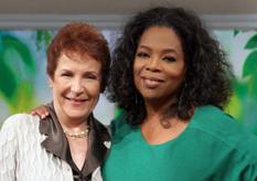Oprah Winfrey and Caroline Myss